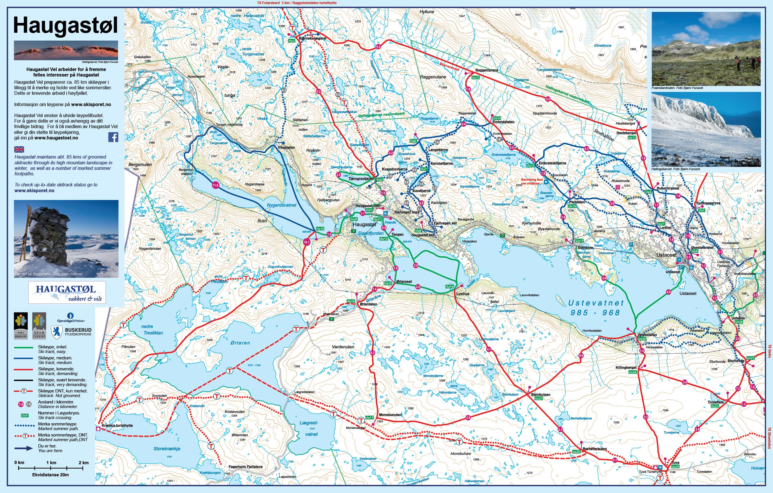 geilo kart Utplassering av kart tavler på Haugastøl – Haugastøl Vel geilo kart